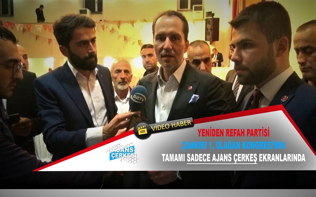 Çankırı'da Erbakan Rüzgarı Esti