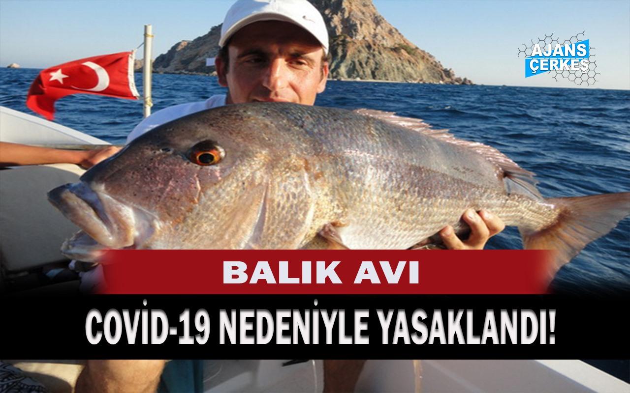 İç Sularda Amatör Balıkçılık Yasaklandı!