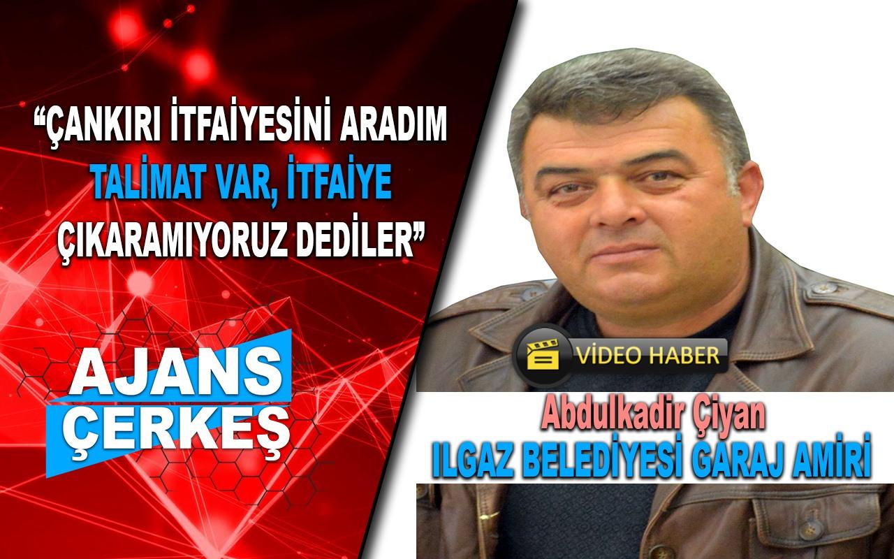 Ilgaz Belediyesi ile Çankırı Belediyesi Arasında İtfaiye Polemiği!