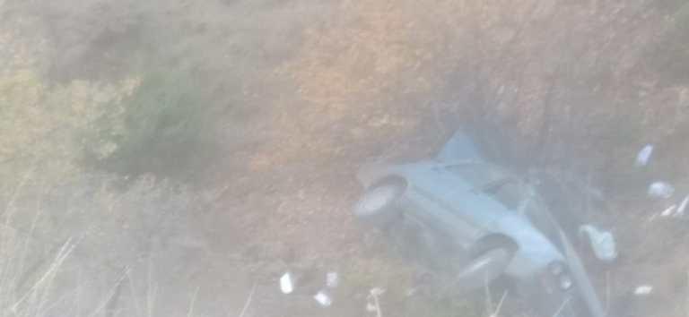 CHP İlçe Başkanı Elvanağacı Kaza Yaptı